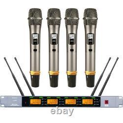 Skm9000 4 Microphone Sans Fil Portatif Skm 9000 Uhf Sets Édition Limitée