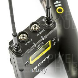 Sony Uwp-d12 Appareil Photo-montage Sans Fil Cardioïde Système De Microphone Portable