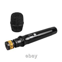 Système De Microphone Sans Fil Audio 8 Channel Pro Uhf 8 MIC Dynamique Métallique Portatif