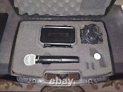 Système De Microphone Sans Fil Portatif Shure Pgx24/pg58-h6 Avec Étui