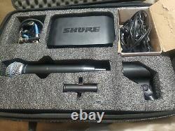 Système De Récepteur Sans Fil Shure Glxd4 Avec 58a Michrophone. Condition Excellante