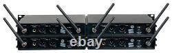 Udh-8-ultra 8 Ch. Uhf Hybrid Wireless MIC Casque De Poche Lavaliere Instrument