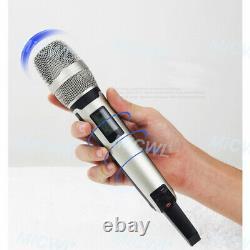 Uhf 2x100 Channel Skm9000 Système À Microphone Dynamique Sans Fil